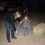 4 year old Curtis teaches T how to rope
